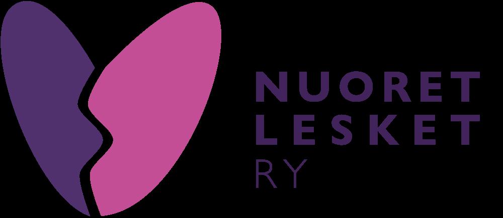 Nuoret lesket ry:n logo.
